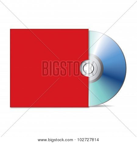 Compact Disk With Cover