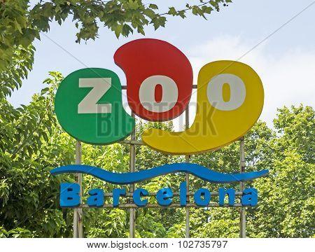 Logo Of Barcelona Zoo