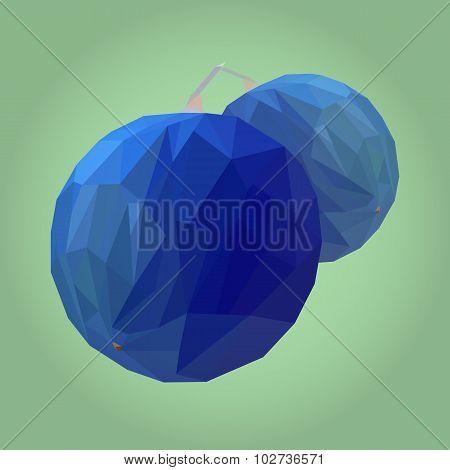 Polygonal Blueberry
