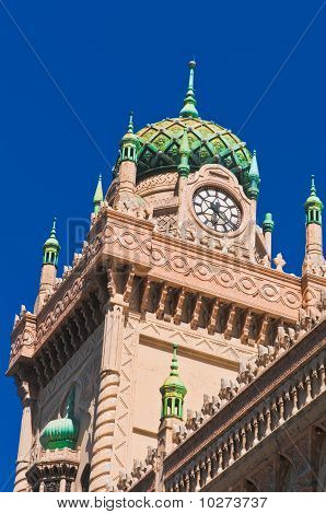 Moorish Revival Style Clocktower And Minarets In Melbourne Australia