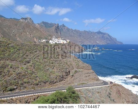 The coast of the Atlantic ocean, Tenerife, Canary Islands
