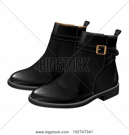 Short riding boot