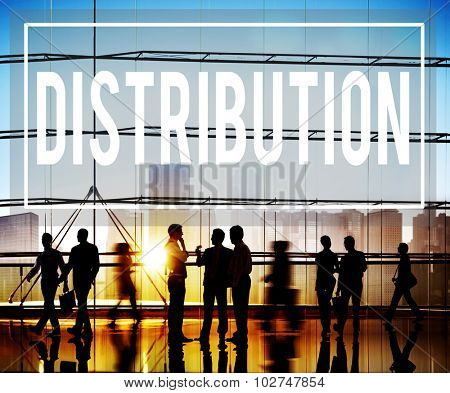 Distribution Sale Marketing Distributor Strategy Concept