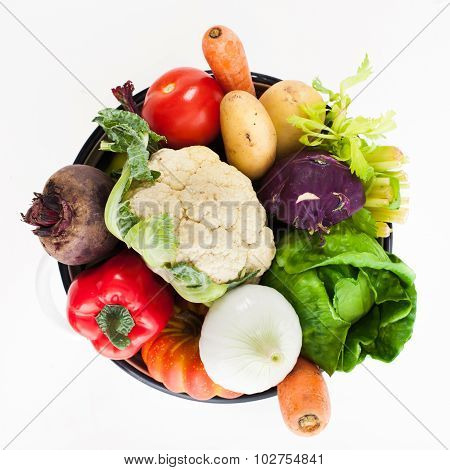 Vegetables for soup
