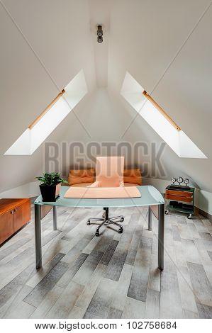 Minimalist Study Room