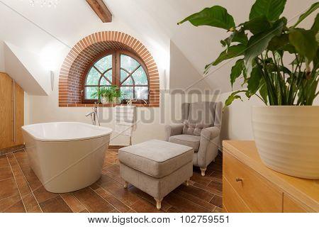 Luxurious Bathroom Lounge