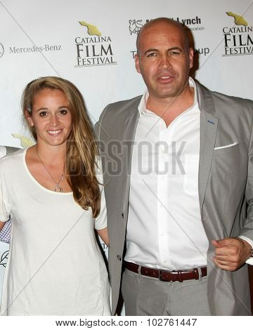 LOS ANGELES - SEP 24:  Carl Cafaro, Billy Zane at the Catalina Film Festival Opening Night Feature -- West of Redemption at the Lancer Auditorium on September 24, 2015 in Avalon, CA