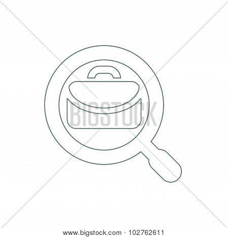 Portfolio Analysis Icon - Job Search Icon
