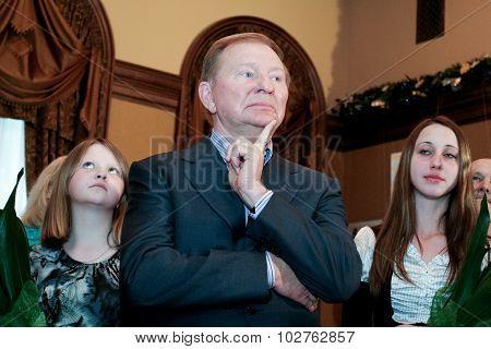 Ex-president Of Ukraine  Leonid Kuchma