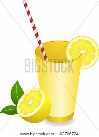 Lemon Juice Summer Refreshment