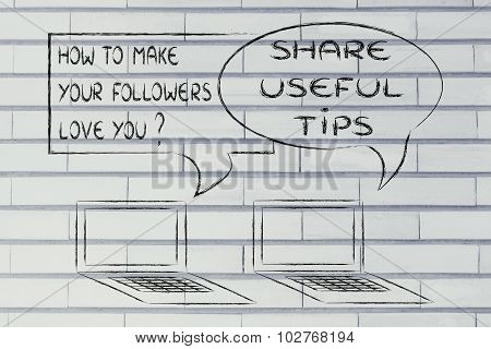 How To Make Your Followers Love You? Share Useful Tips