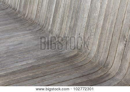 wooden background - wood bench closeup