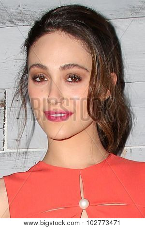 LOS ANGELES - SEP 24:  Emmy Rossum at the VIP Sneak Peek Of go90 Social Entertainment Platform at the Wallis Annenberg Center for the Performing Arts on September 24, 2015 in Los Angeles, CA