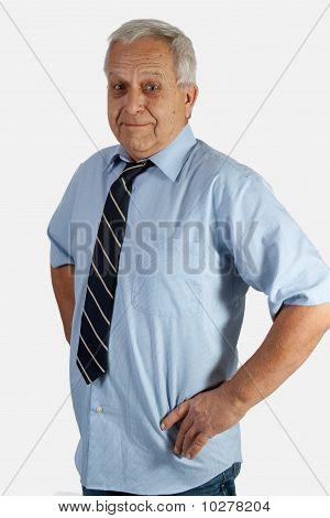 Senior Caucasian Man