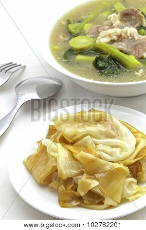 Chinese Gravy Noodles