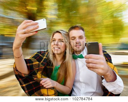 cople selfie photos
