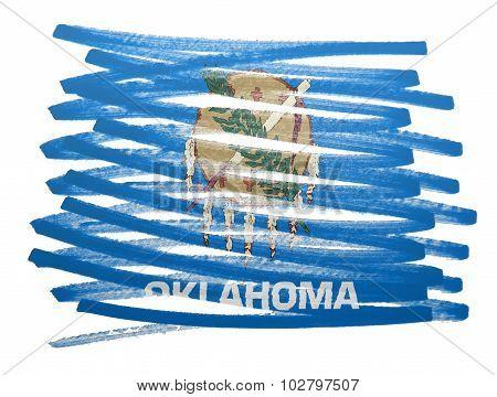 Flag Illustration - Oklahoma