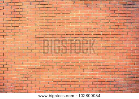 the red brown brick wall texture background