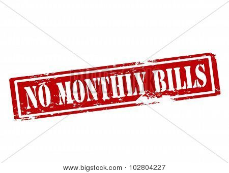 No Monthly Bills