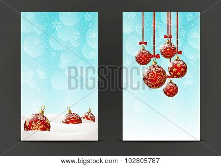 Christmas banners 240 x 400 size