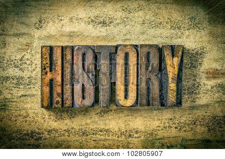 Antique Letterpress Wood Type Printing Blocks - History