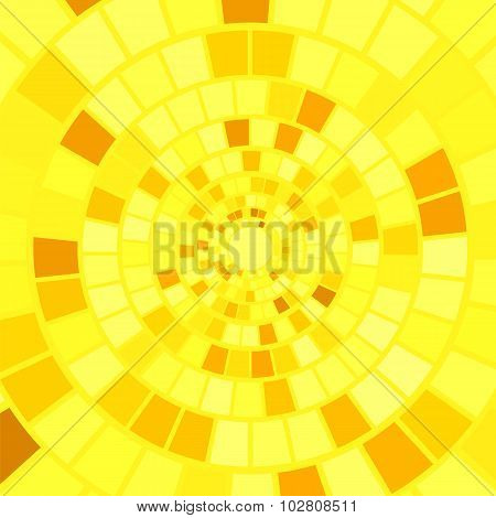 Yellow Mosaic Background