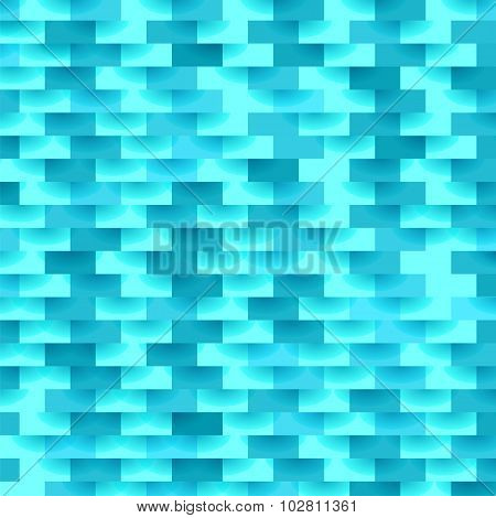 Illustration of Abstract Azure Texture.