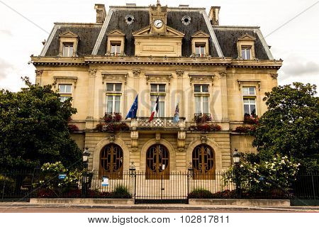 The town hall of Nogent sur Marne, France.