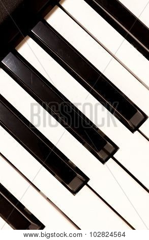 Key Piano Background.