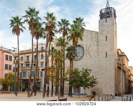 Girona. Constitution Square.