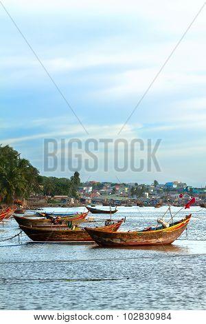Wooden Boat Vietnam