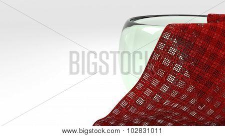 Glass With Napkin