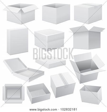Box set. Vector Web