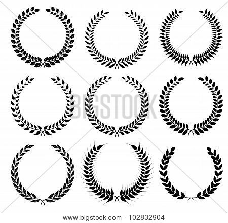 A laurel wreath - symbol of victory and achievement.