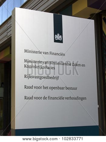 The Dutch Ministry Of The Interior And Kingdom Relations And Ministry Of Finance