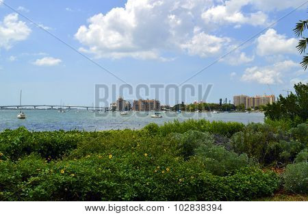 Sarasota Bay in Florida