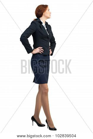 Confident businesswoman