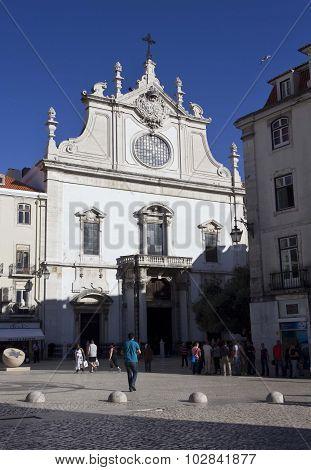 Sao Domingos Church In Lisbon
