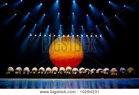 Chinese Ethnic Dance Of Yi Nationality