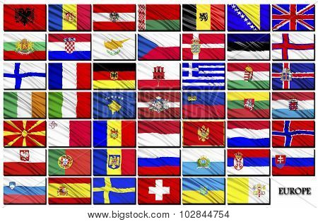 Flags Of European Countries
