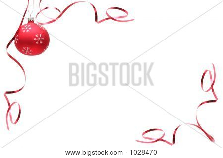 Bombilla roja de Navidad