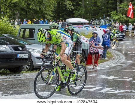 The Cyclist Marco Marcato - Tour De France 2014