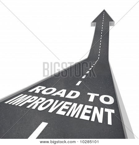 Road To Improvement - Words On Street