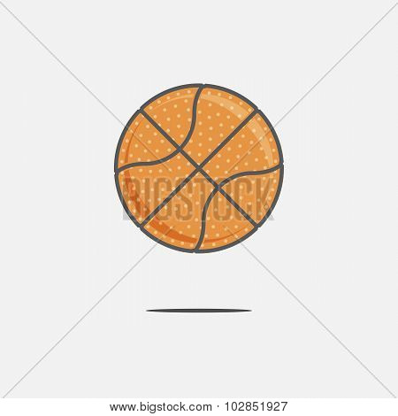 Colorful Basketball Ball