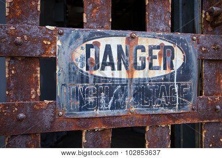 Danger - High Voltage