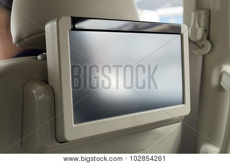 Small Tv Led Portable Interior In Car