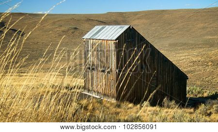 Weathered Barn In Eastern Oregon