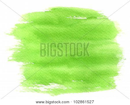 Abstract Green Spot