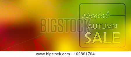 Autumn Banner Sale