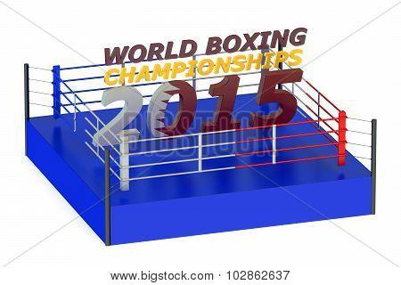 World Boxing Championship 2015 Doha Concept